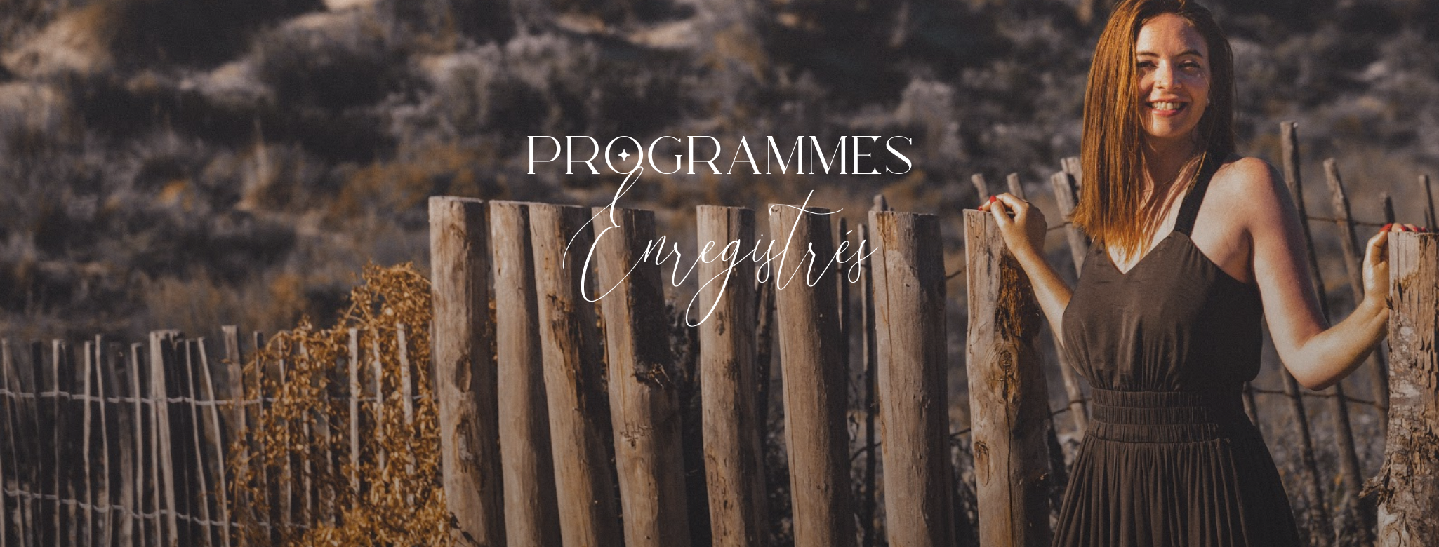 Bannière programmes enregistrés